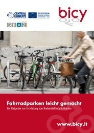 Fahrradparken leicht gemacht www.bicy.it
