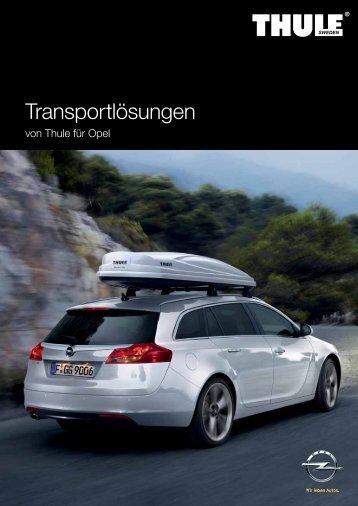 Transportlösungen - Opel.ch