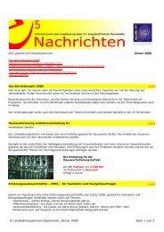 e5-Nachrichten 2008 - LandesEnergieVerein Steiermark