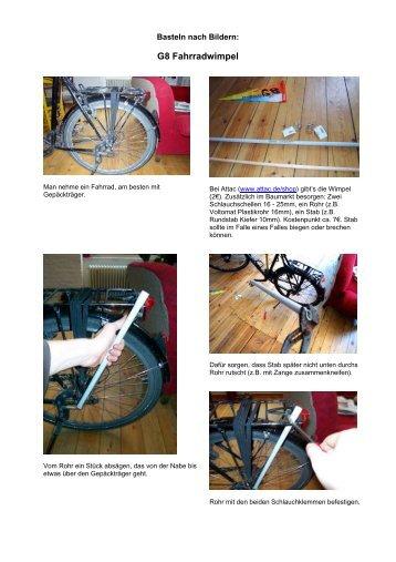 G8 Fahrradwimpel