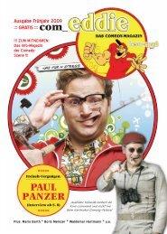 ZUM MITNEHMEN: Das Info-Magazin der ... - Wir sind Comedy