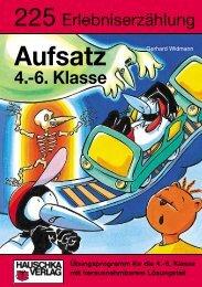 Aufsatz 4.-6. Klasse - Hauschka Verlag