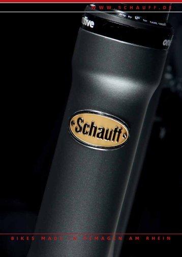 Katalog 2013 - Fahrradfabrik Schauff