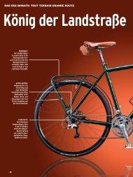 r Landstraße Als Konzept-Rad soll das Grande Route ... - Tout Terrain