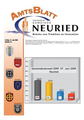 Ortschaftsratswahl Altenheim - Gemeinde Neuried