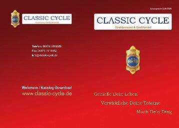 Einfach online bestellen! www.classic-cycle.de - Choppersforlife