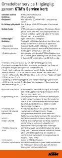 SERV ICE KORT - Page 2