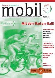 Liebe Fahrradfreundinnen und Fahrradfreunde!