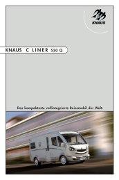 KNAUS C L I N E R 550 Q - Reisemobil International