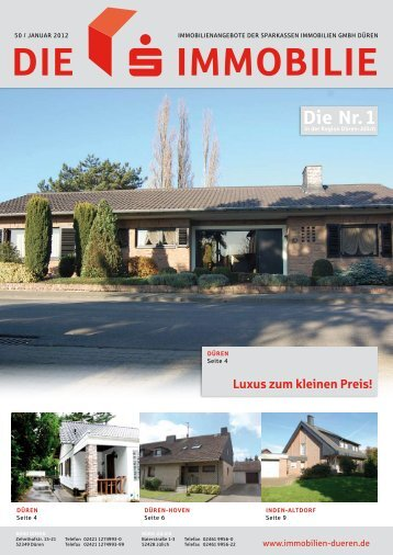 Die immobilie - Sparkasse Düren