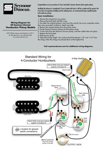 seymour duncan jb wiring seymour image wiring diagram les paul wiring schematic seymour duncan wiring diagram and on seymour duncan jb wiring