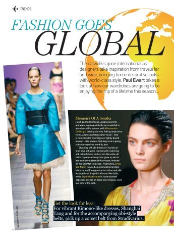 Fashion Goes Global - Paul Ewart