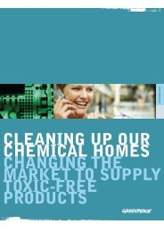 cleaning up our chemical homes changing the market ... - Ecobase 21