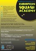 EurOpean Squash Academy - SquashTalk - Page 2