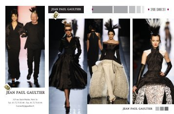 Maqette Gaultier-52 - Moda Style