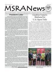 Gaultier Upsets Shabana for U.S. Open Title - Massachusetts Squash