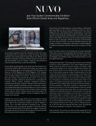 Jean Paul Gaultier Commemorative Exhibition ... - NUVO Magazine