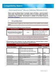 CommandCenter Secure Gateway (CC-SG) - v5.3.0 ... - Raritan