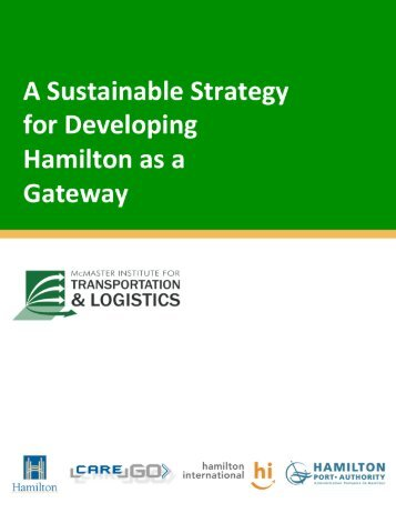 Gateway Report - McMaster Institute for Transportation and Logistics ...