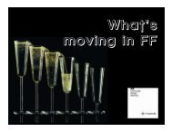What's Moving in FF 2012 Memorias - IMAAC