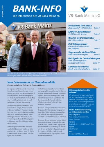 BANK-INFO - VR-Bank Mainz