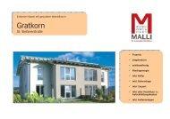 Verkaufsprospekt 20081001 - Malli