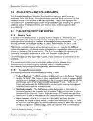 Gateway West EIS Chapter 4 - Wyoming - Bureau of Land ...