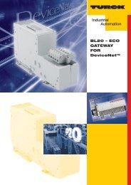 BL20 - ECO GATEWAY FOR DeviceNet - Turck