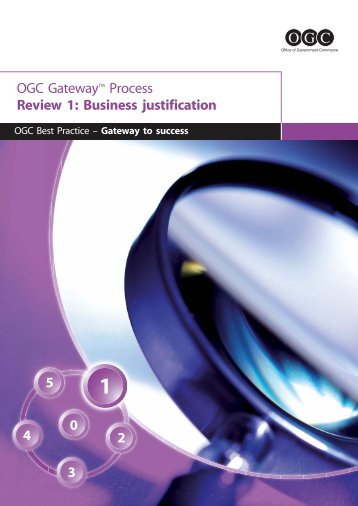 3271 OGC Gateway1_FINAL.qxd - Department of Finance and ...