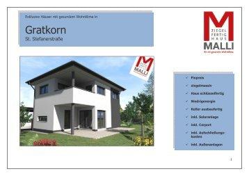 Verkaufsprospekt Gratkorn 20110607 - Malli