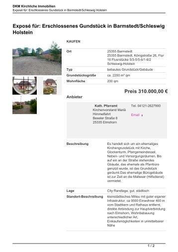 Exposé für - Kirchliche Immobilien