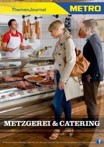 METZGEREI & CATERING - Metro