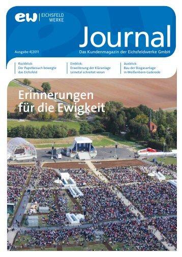 Ausgabe 4/2011 - Eichsfeld Werke