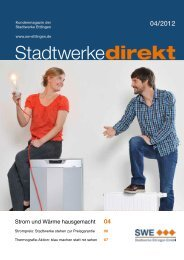 Aktuelle Ausgabe - Stadtwerke Ettlingen GmbH