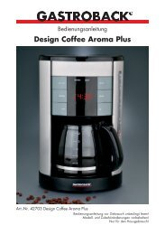 Design Coffee Aroma Plus