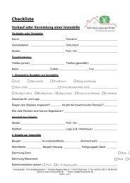 Checkliste Verkauf oder Vermietung einer Immobilie - Immoquartier ...