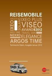 Technische Daten Reisemobile DE 2012 - Buerstner.com