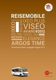 Reisemobile A Technische Daten 2012 - Buerstner.com