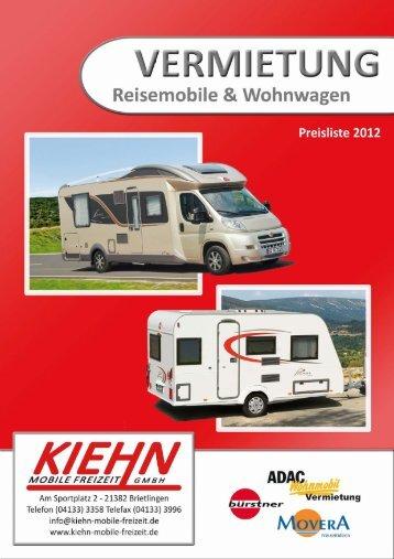 Ganzseitiges Foto - Kiehn Mobile Freizeit GmbH