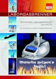LABORGASBRENNER - Carl Roth