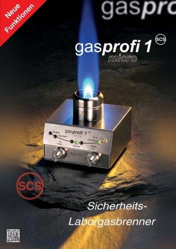 Der kleinste Profi unter den Laborgasbrennern! - Laborgeräte MS-L ...