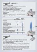 Der kleinste Profi unter den Laborgasbrennern! - Laborgeräte MS-L ... - Seite 3
