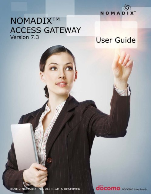 Nomadix Access Gateway User Guide