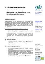 KUNDEN-Information