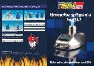 Sicherheits-Laborgasbrenner von ROTH - Carl Roth