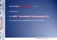 Das KEK - Rominger Kunststofftechnik GmbH