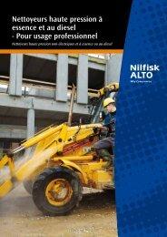 Nettoyeurs haute pression à essence et au diesel ... - Nilfisk-ALTO