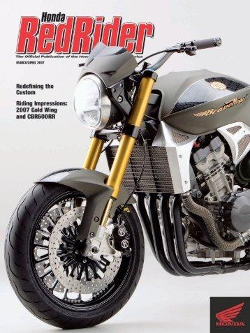 RR80 C1 - Honda Rider's Club of America