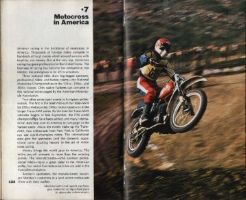 '7 Motocross in America - Dave's Tests and Articles