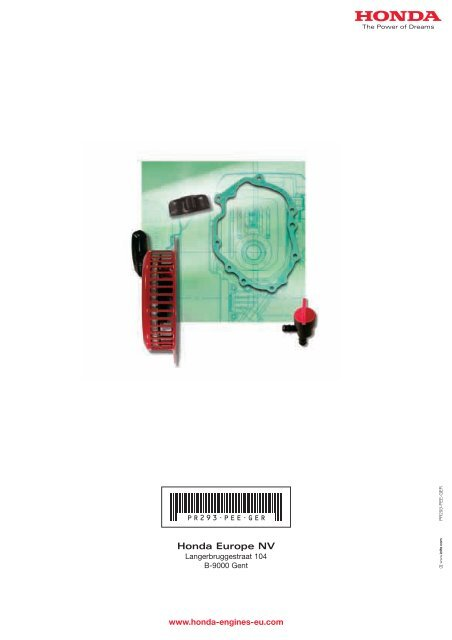06112-ZE3-405 Honda Dichtsatz GX 340 Dichtung Satz für Motordichtungen